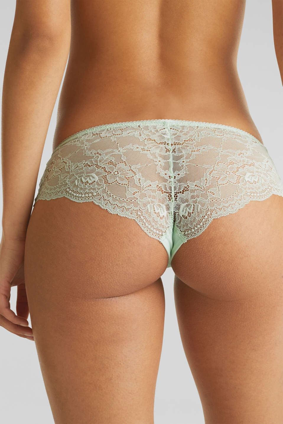 Hipster briefs in lace, LIGHT AQUA GREEN, detail image number 3
