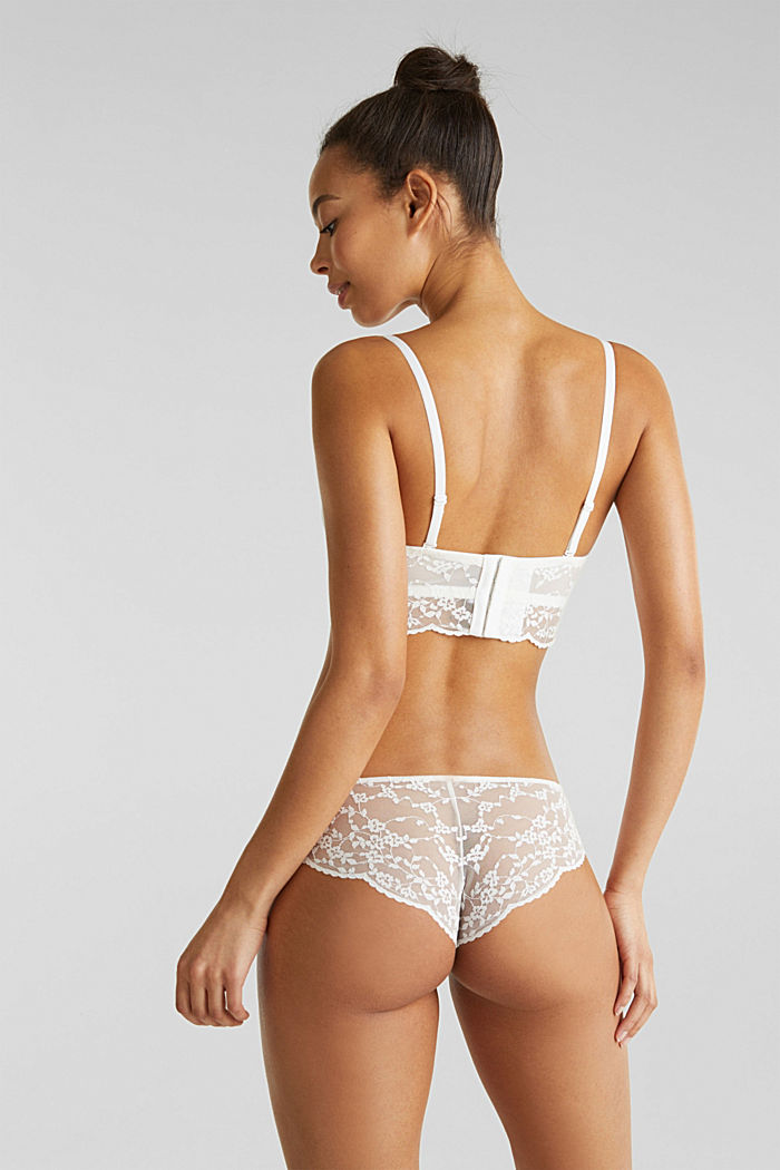 Underwire bra with detachable straps, OFF WHITE, detail image number 1