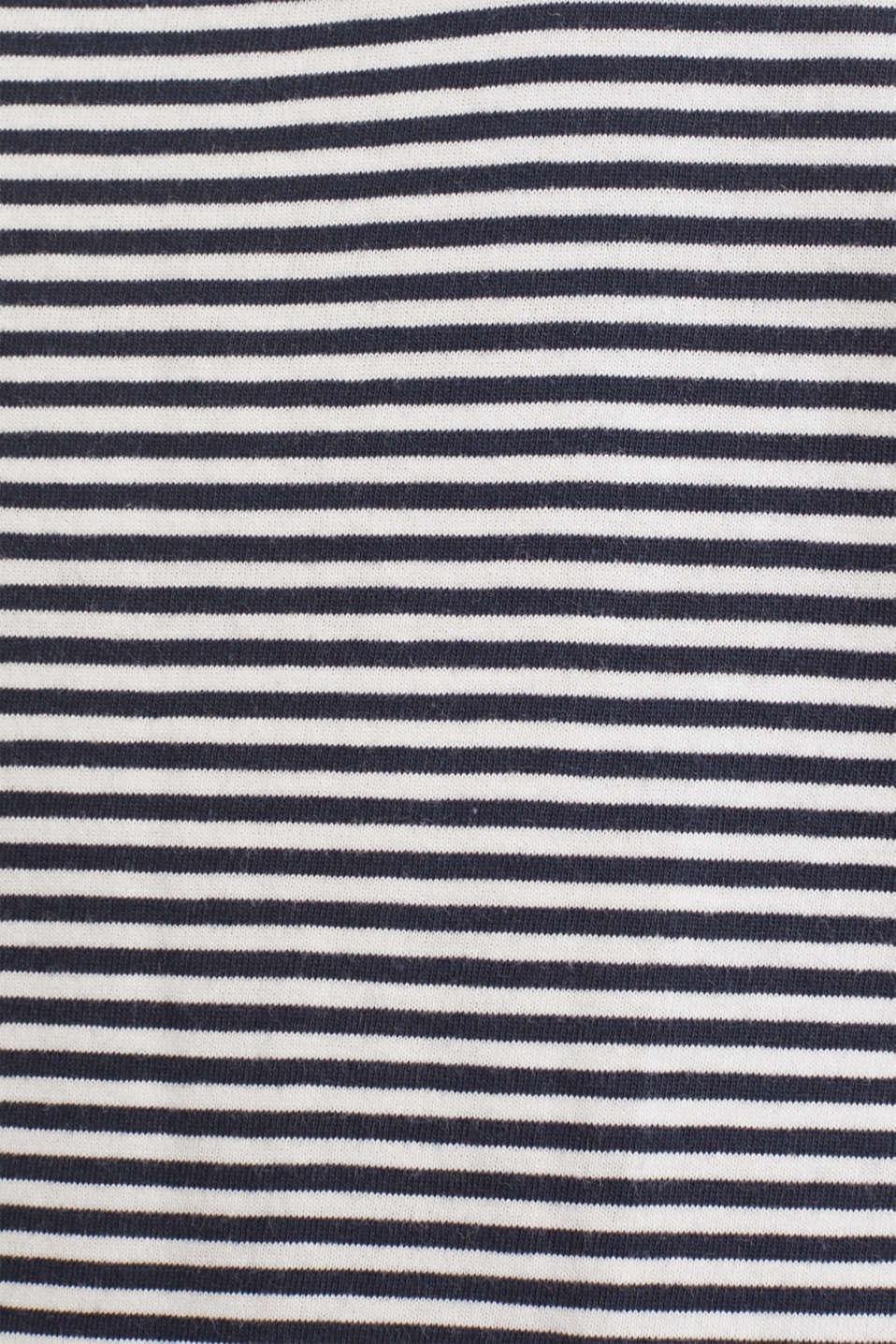 Jersey nightshirt, 100% cotton, NAVY 2, detail image number 2