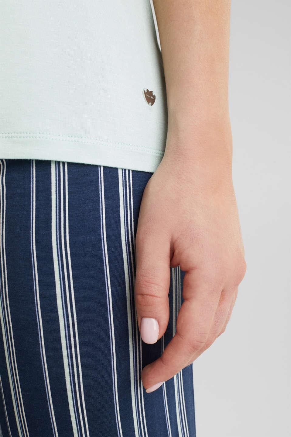 Stretch jersey pyjamas, NAVY 2, detail image number 4