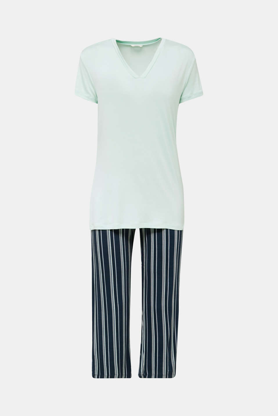 Stretch jersey pyjamas, NAVY 2, detail image number 5
