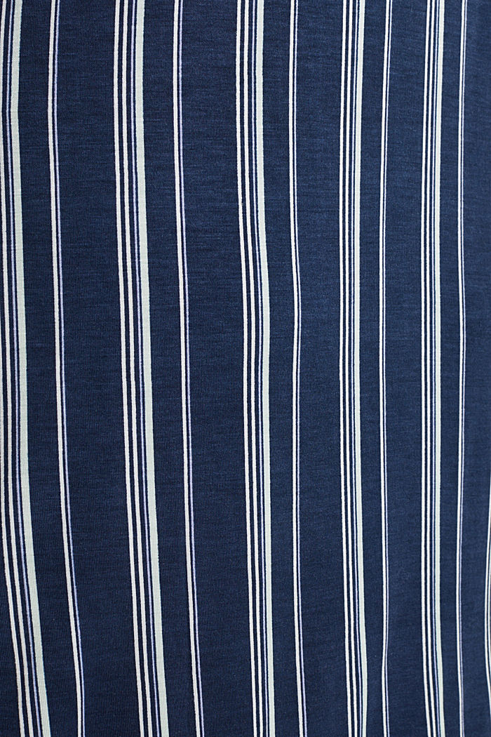Jersey Henley-style nightshirt, NAVY, detail image number 4