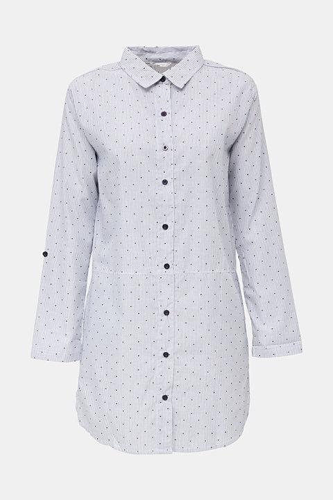 Woven nightshirt, 100% cotton