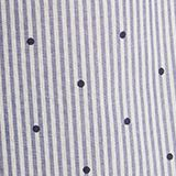 Woven nightshirt, 100% cotton, BLUE LAVENDER, swatch