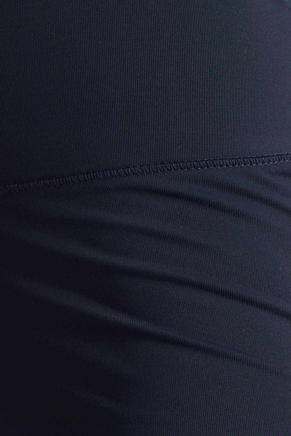 Leggings with polka dot details, E-DRY, NAVY 2, detail image number 3