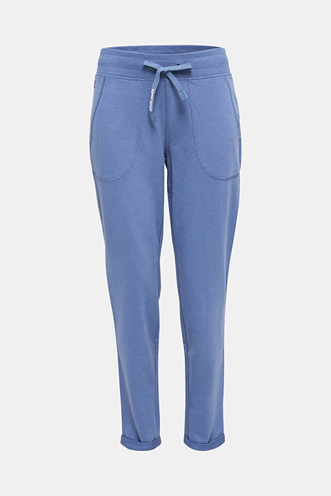 Tracksuit bottoms made of stretch cotton