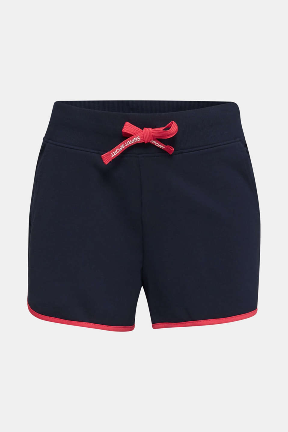 Contrasting jersey shorts, NAVY 2, detail image number 7