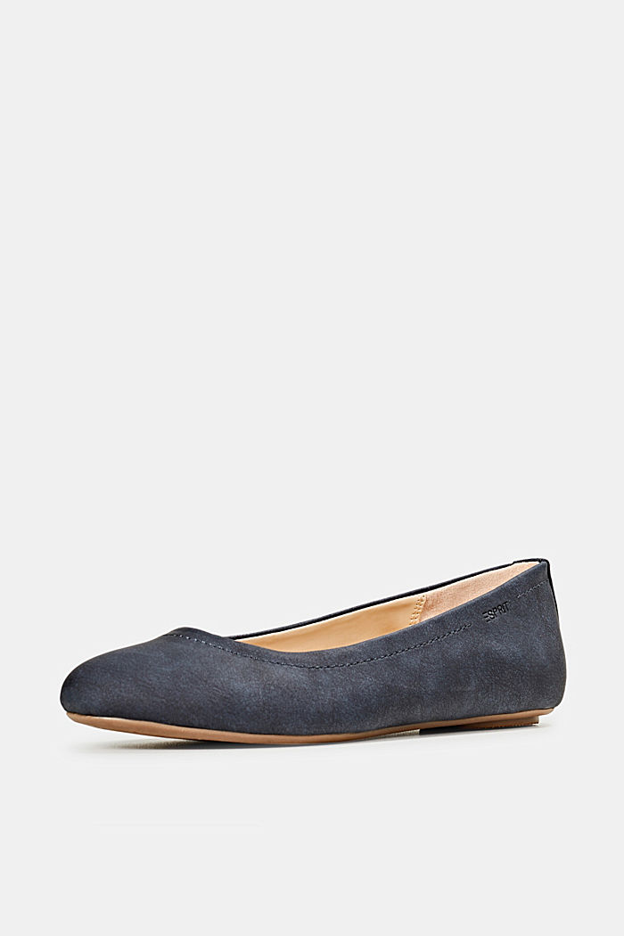 Ballerinas with stud details, NAVY, detail image number 1
