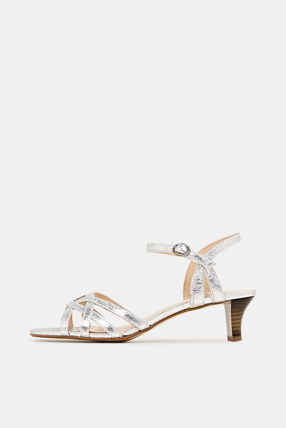 Esprit - Shiny strappy sandals
