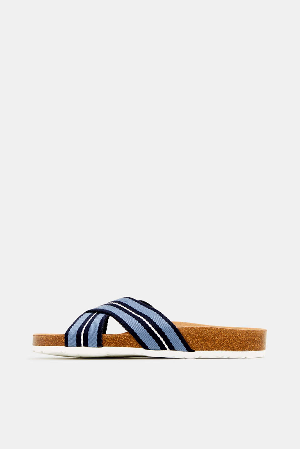 Esprit - Slip-ons with crossover straps