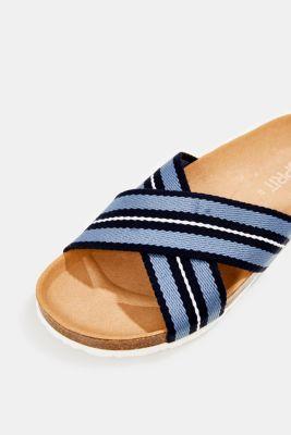 Esprit Slip in sandal med korsade remmar i Esprits Online Shop