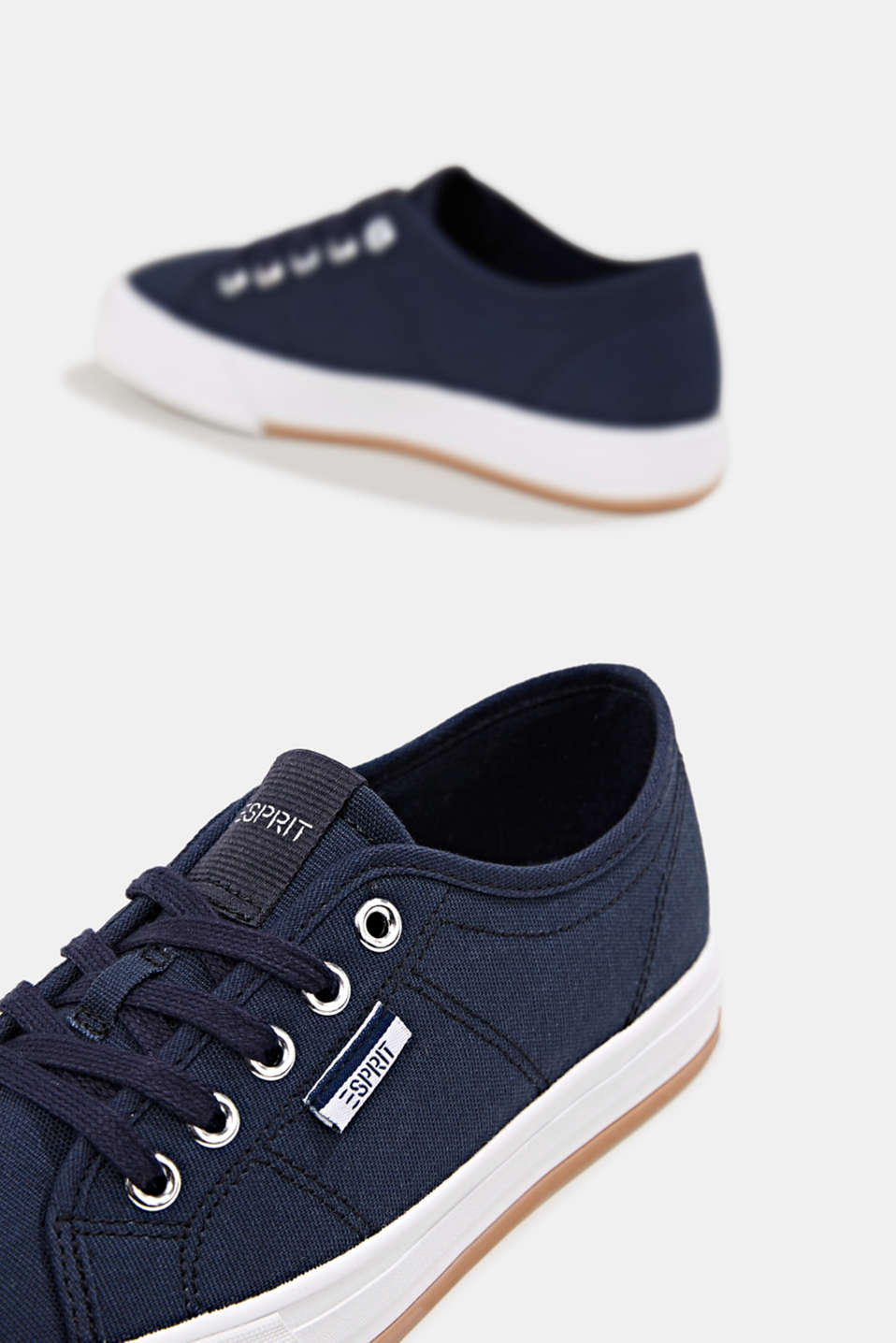 Cotton trainers, NAVY, detail image number 6