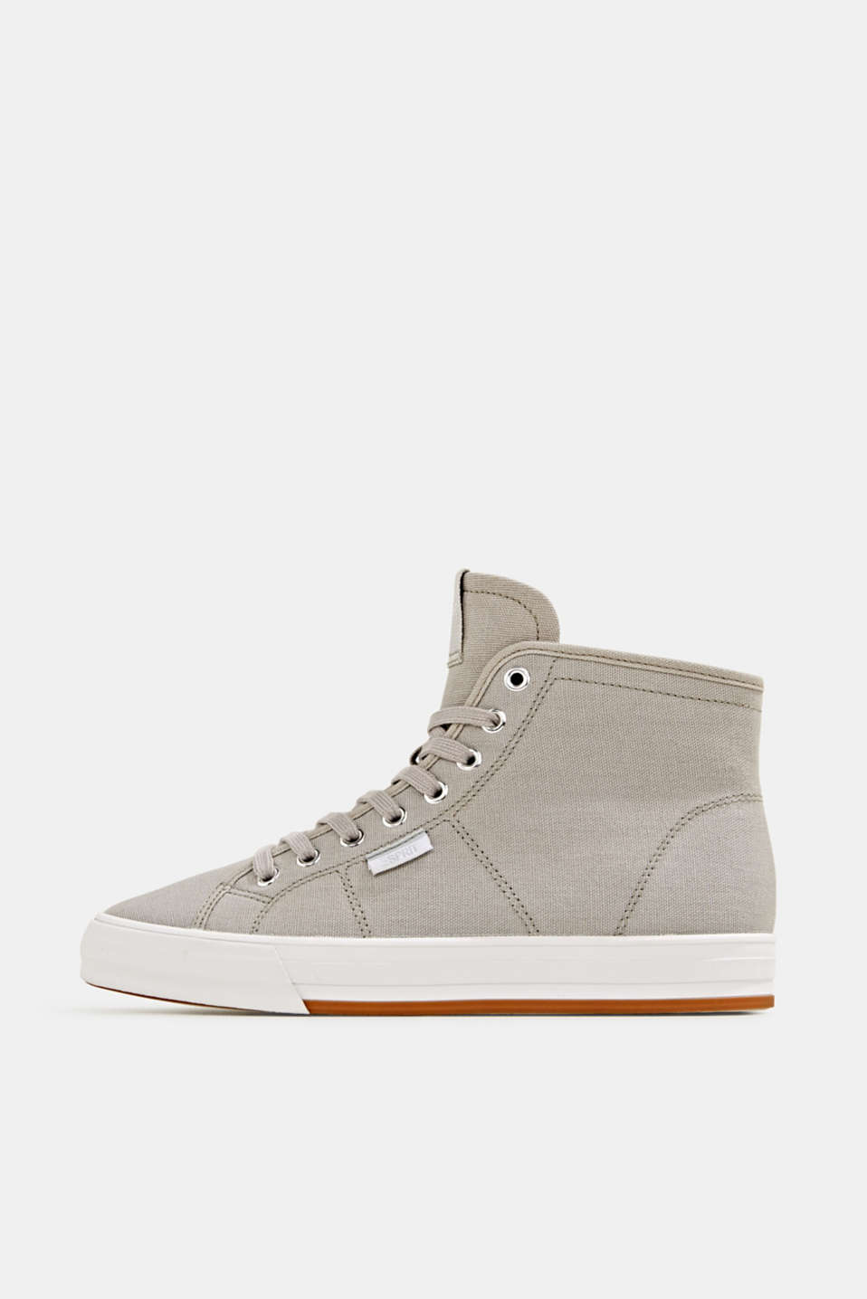 Esprit - High-top cotton trainer