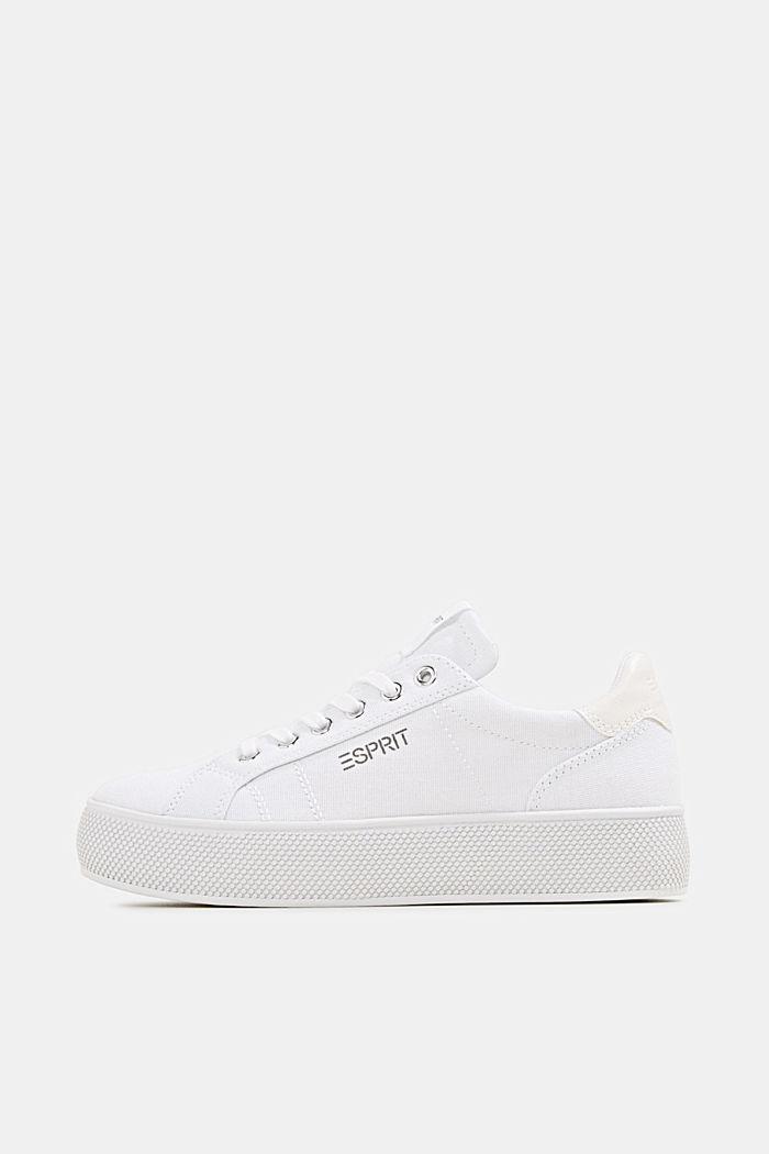 Sneaker mit breiter Sohle