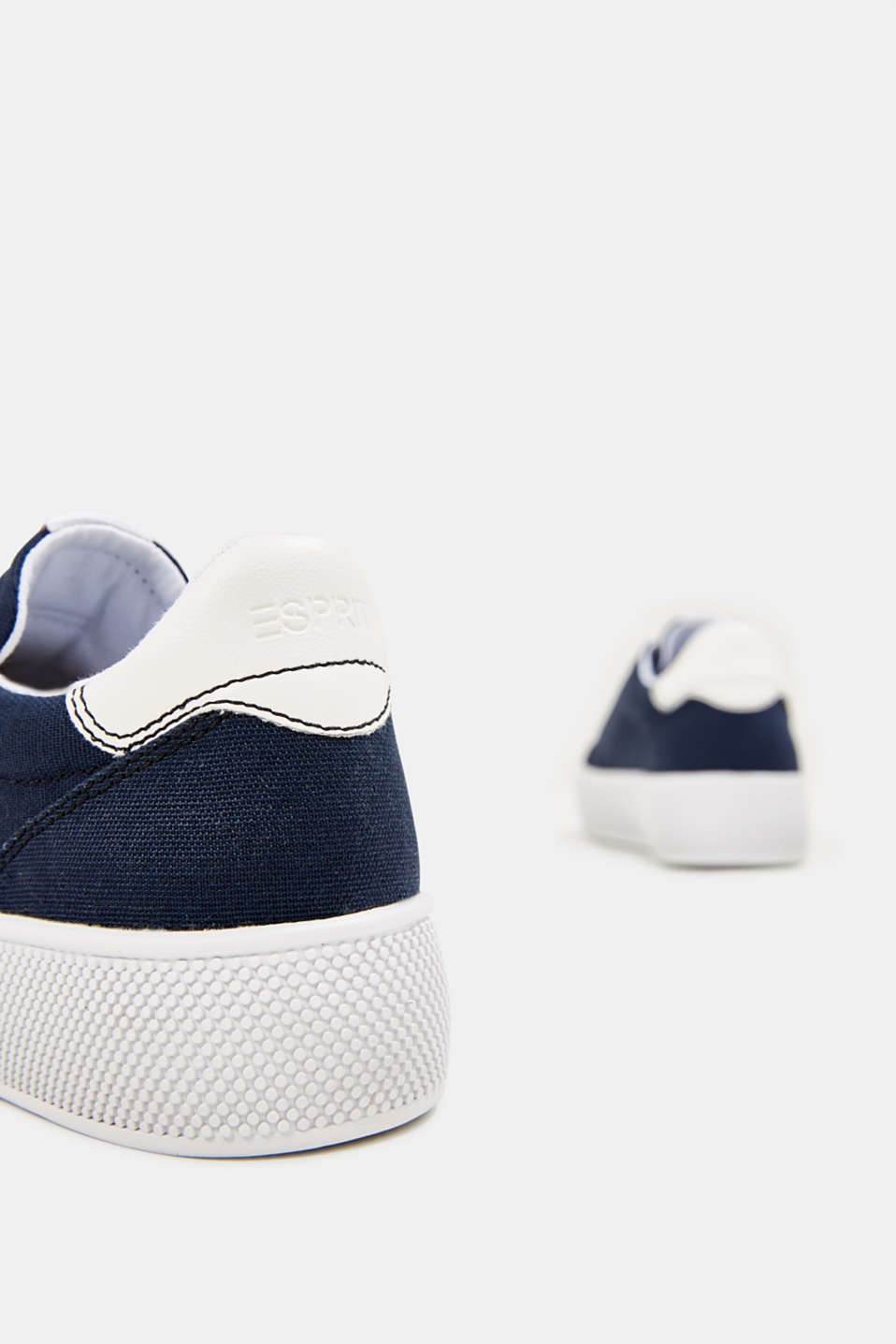 Trainers with a wide sole, NAVY, detail image number 5