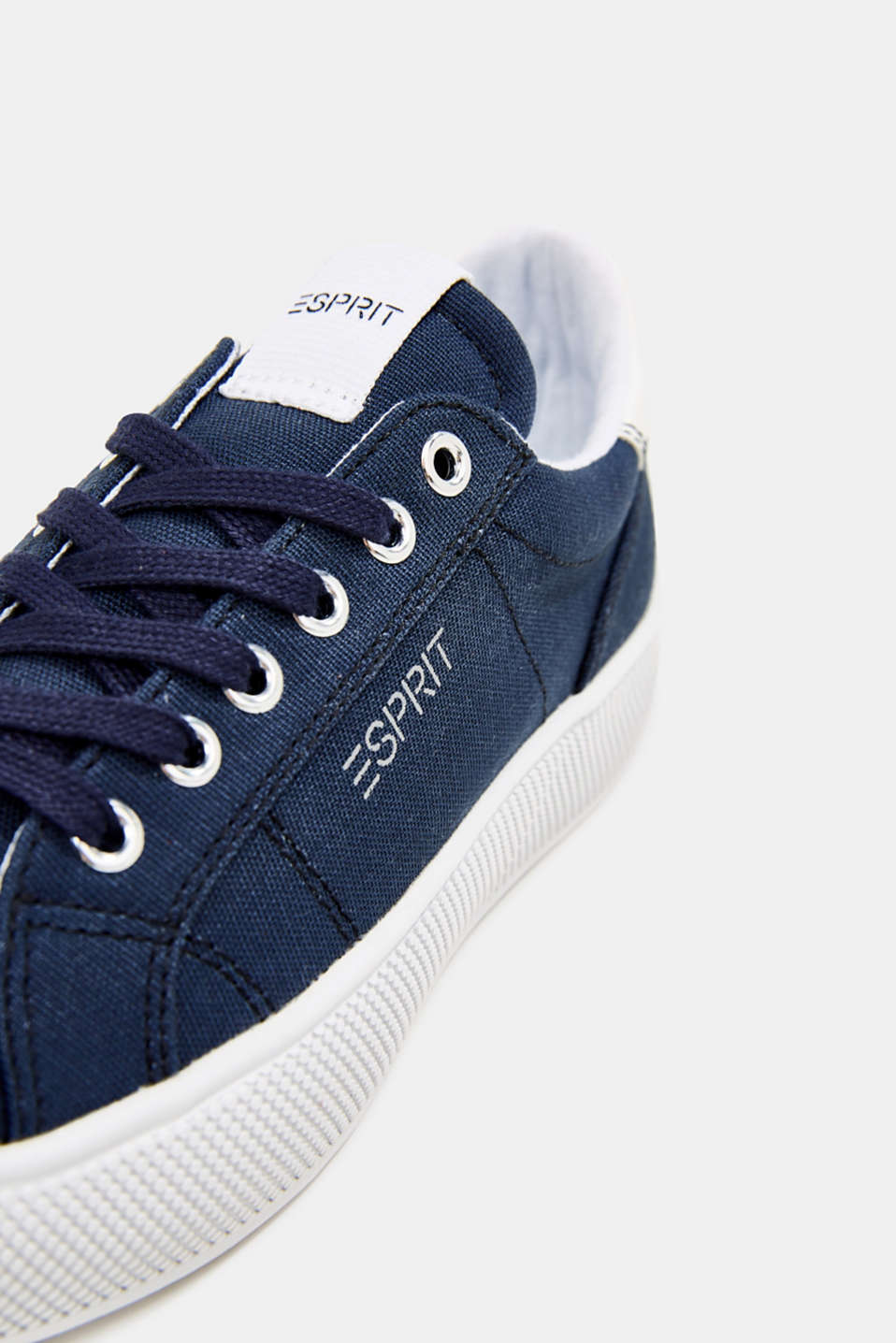 Trainers with a wide sole, NAVY, detail image number 4