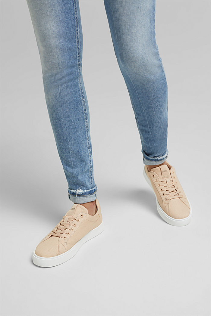 Canvas trainers, 100% cotton