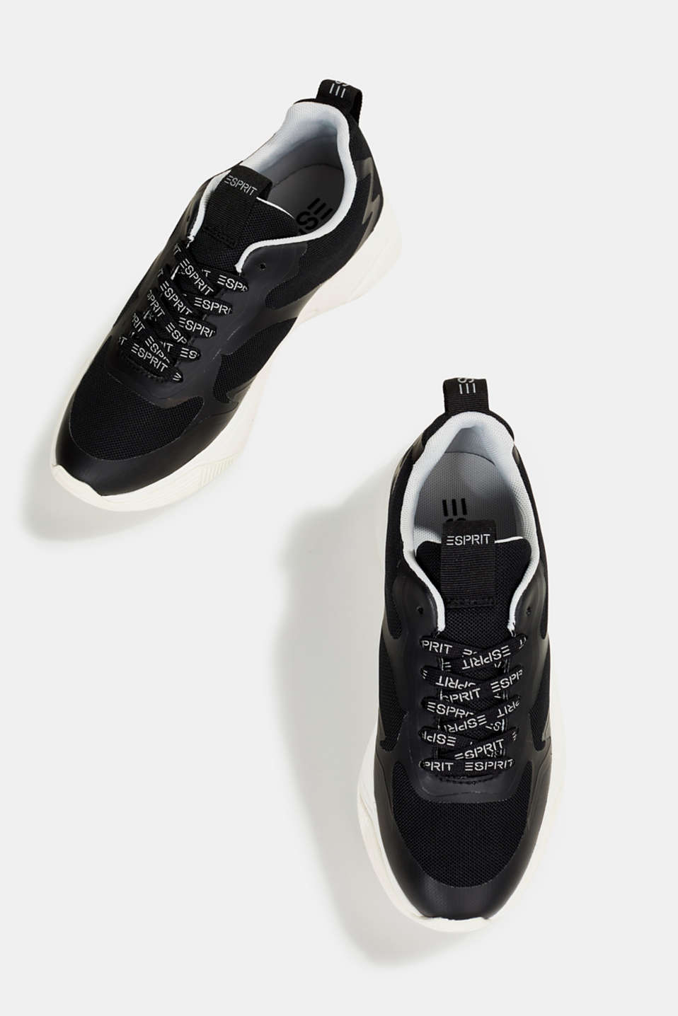 Trainers with an oversized sole, BLACK, detail image number 1