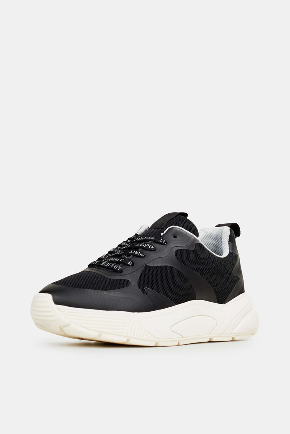 Trainers with an oversized sole, BLACK, detail image number 2