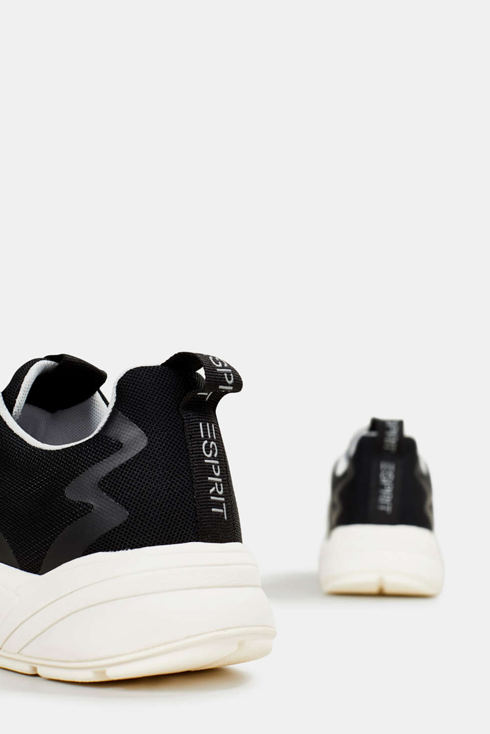 Trainers with an oversized sole, BLACK, detail image number 5