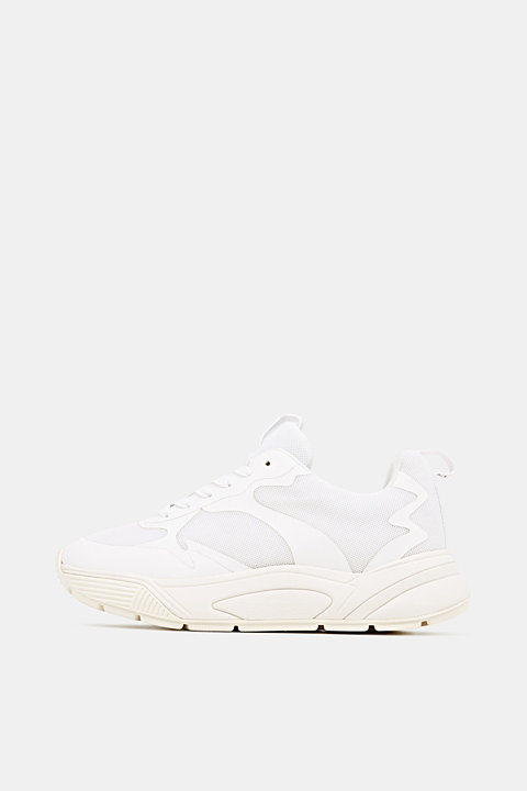 Trainers with an oversized sole