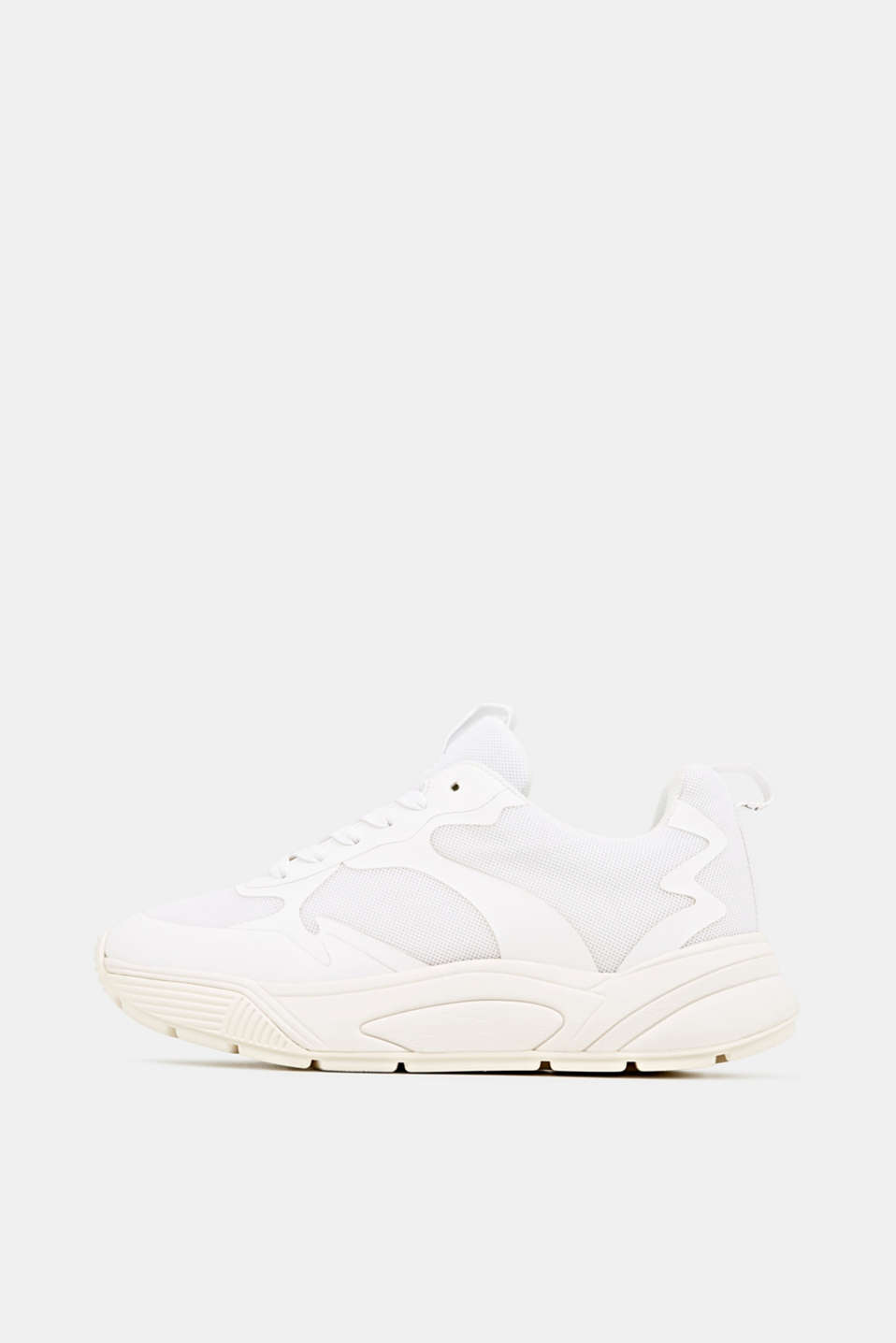 Trainers with an oversized sole, WHITE, detail image number 0