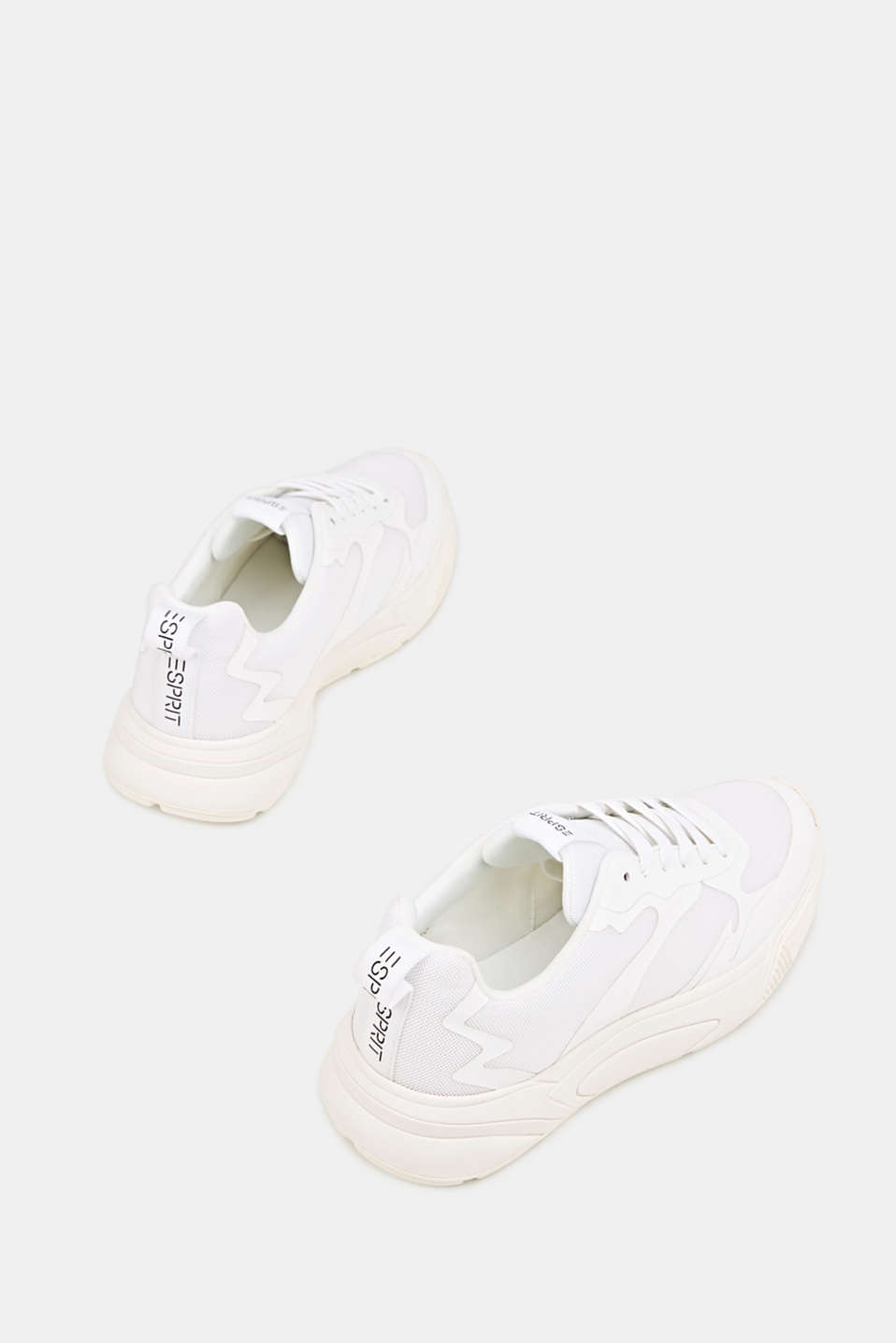 Trainers with an oversized sole, WHITE, detail image number 1