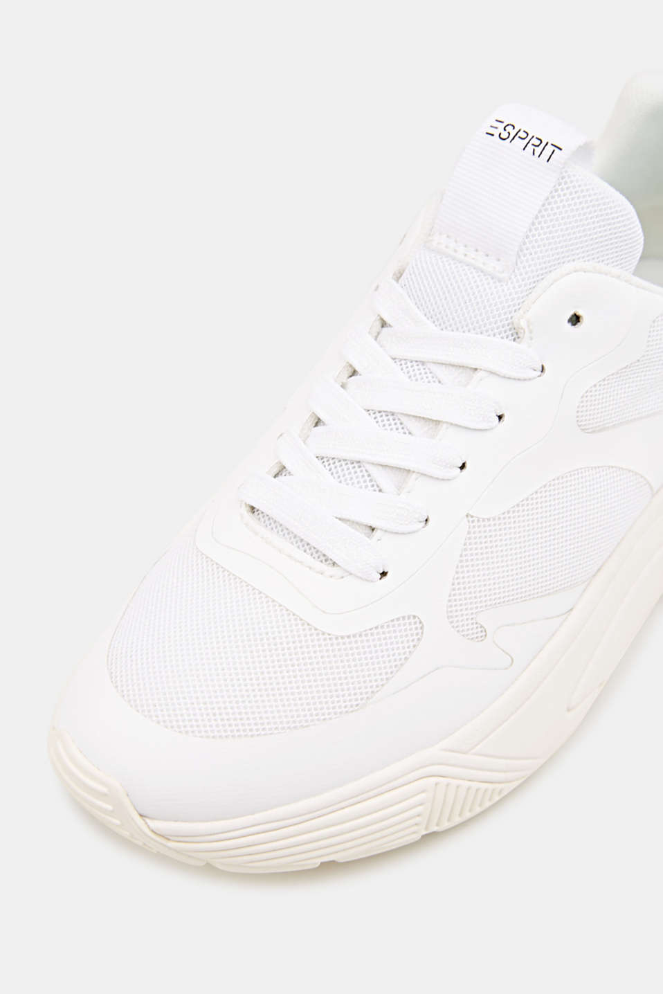Trainers with an oversized sole, WHITE, detail image number 5