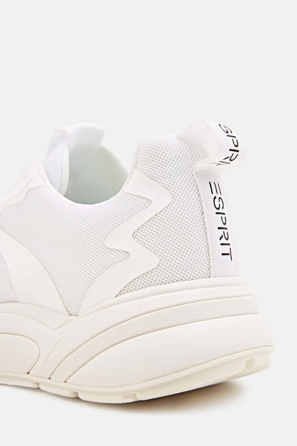 Trainers with an oversized sole, WHITE, detail image number 4