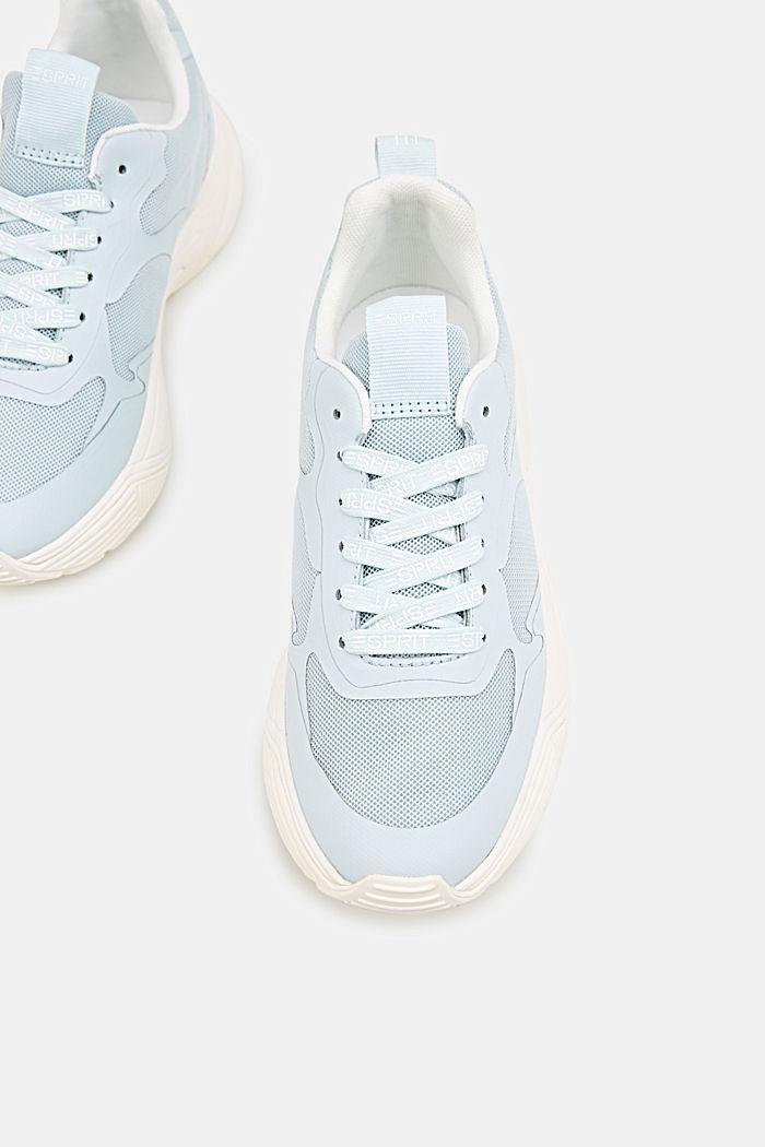 Sneaker mit Oversized-Sohle, LIGHT AQUA GREEN, detail image number 1