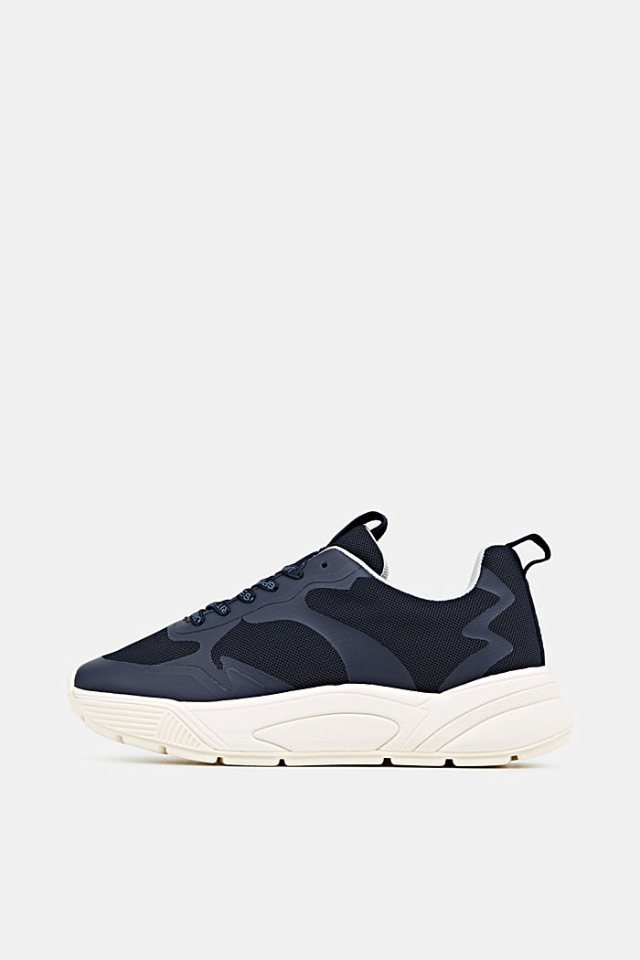Trainers with an oversized sole, NAVY, detail image number 0
