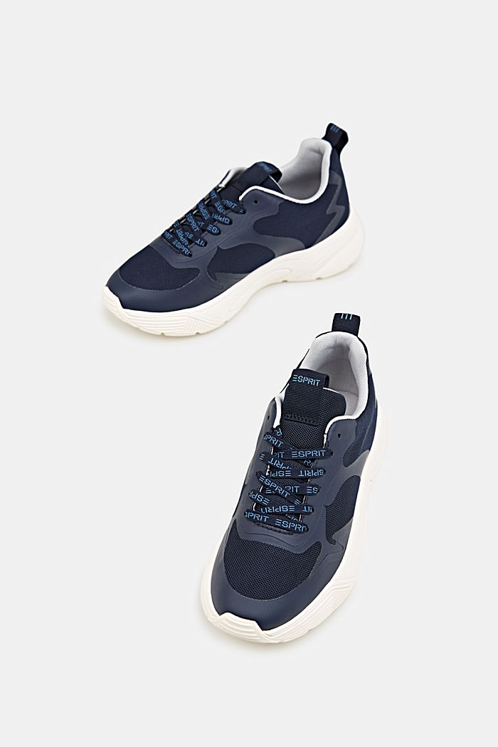 Trainers with an oversized sole, NAVY, detail image number 1