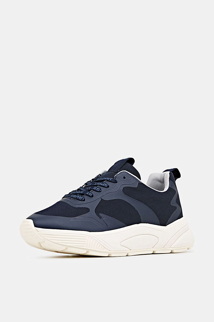 Trainers with an oversized sole, NAVY, detail image number 2