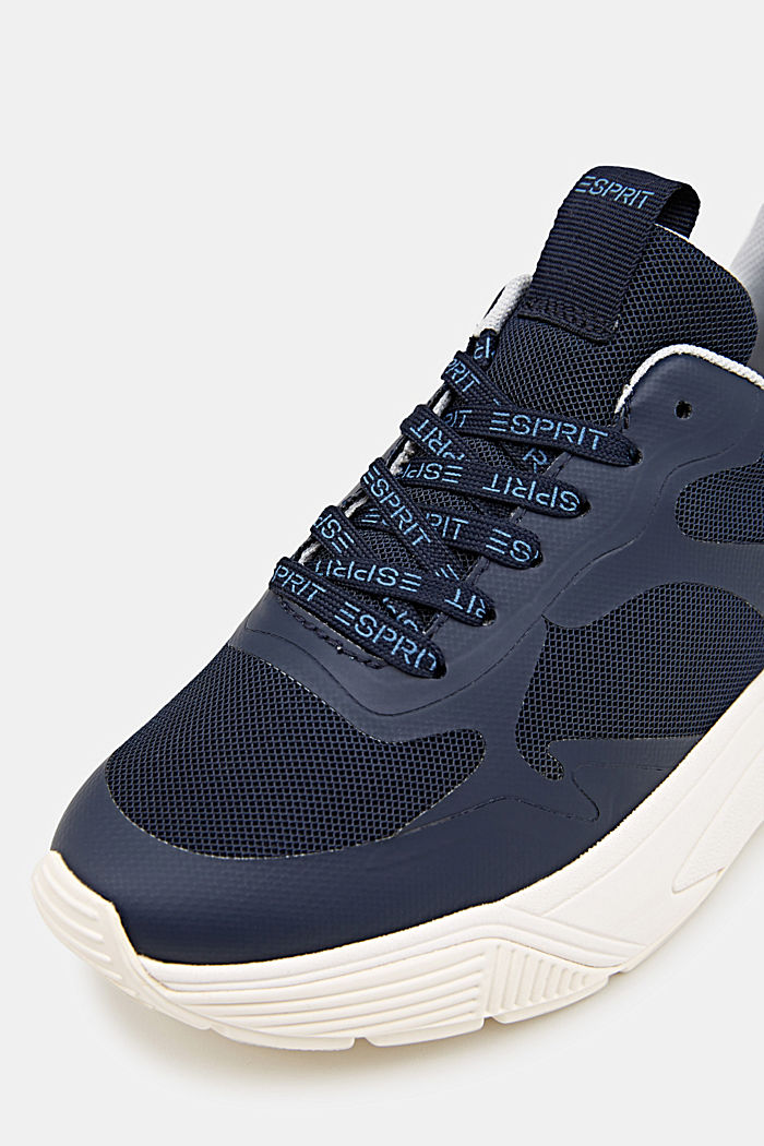 Trainers with an oversized sole, NAVY, detail image number 5