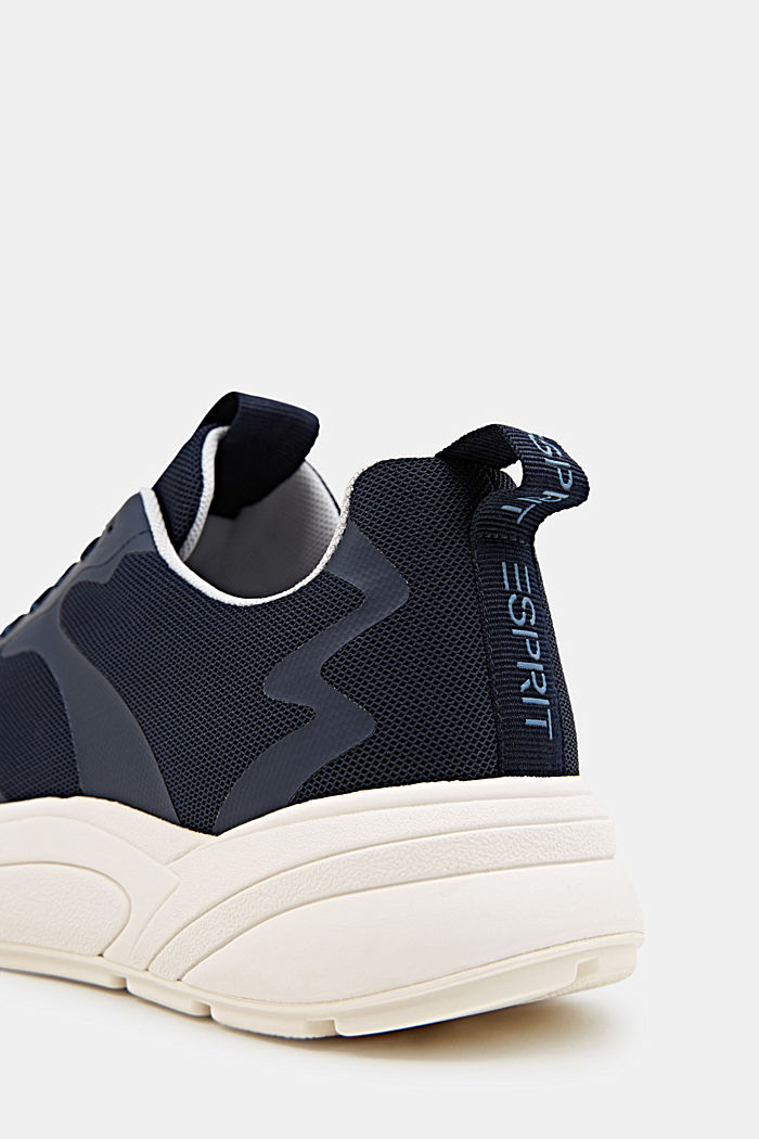 Trainers with an oversized sole, NAVY, detail image number 4