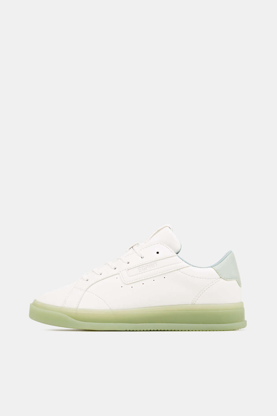 Esprit - Faux leather trainers