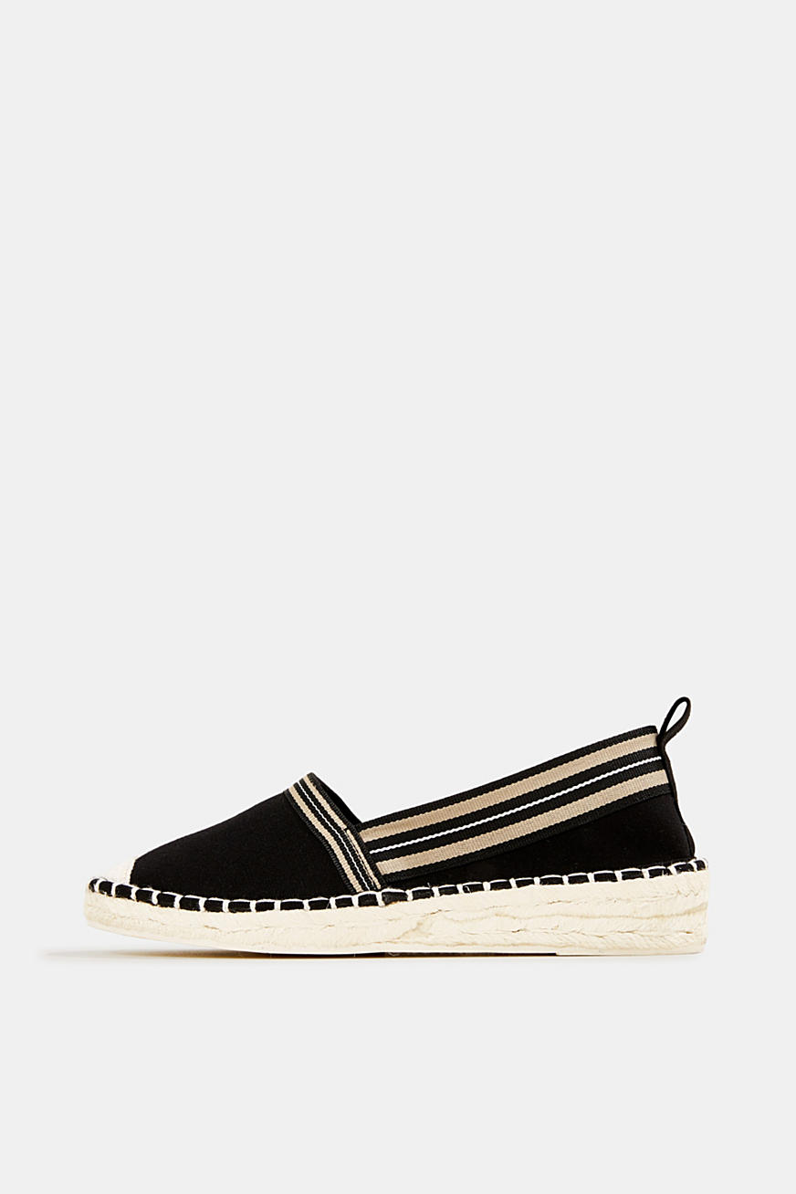 Espadrilles with striped details