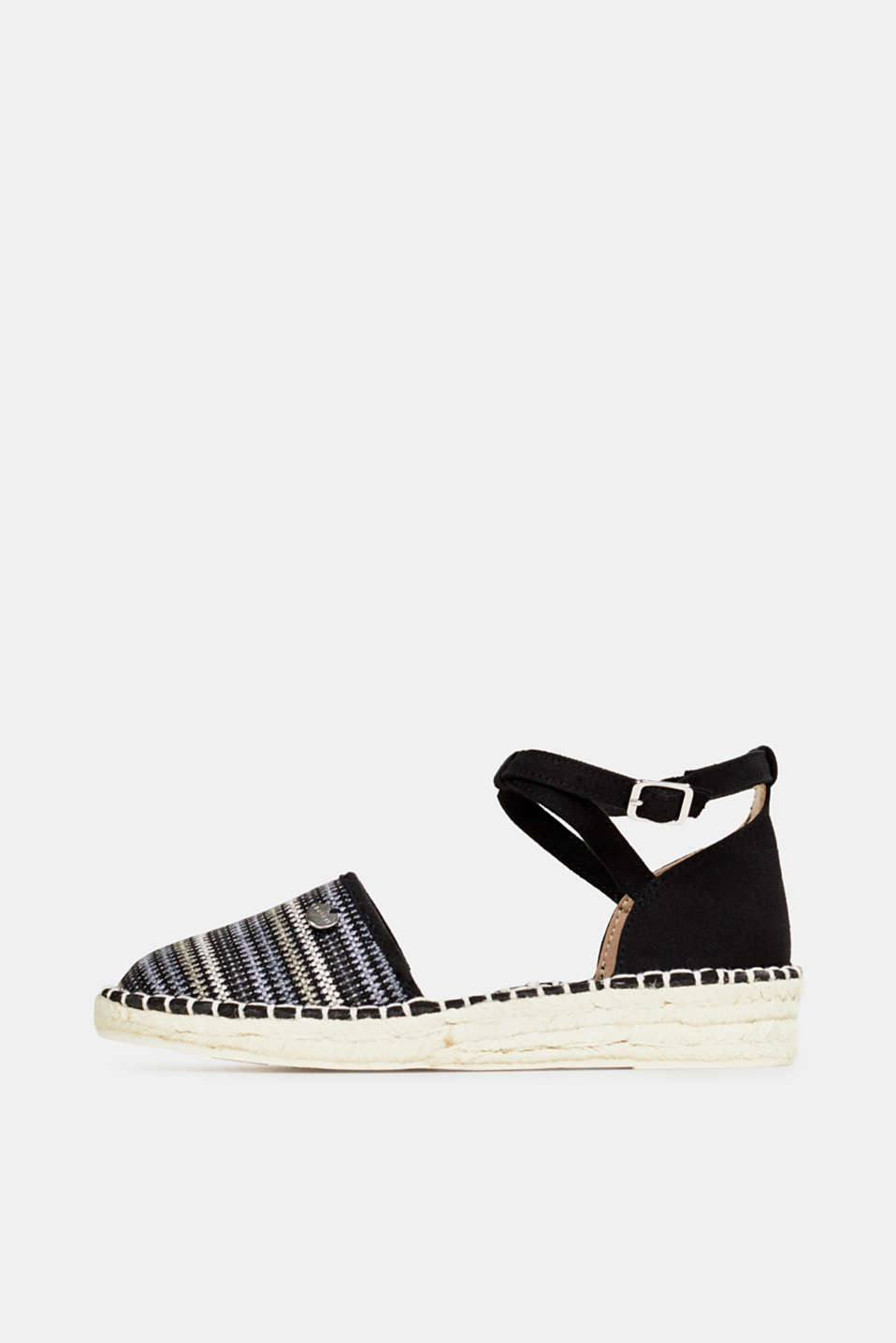 Esprit - Espadrille sandals with stripes