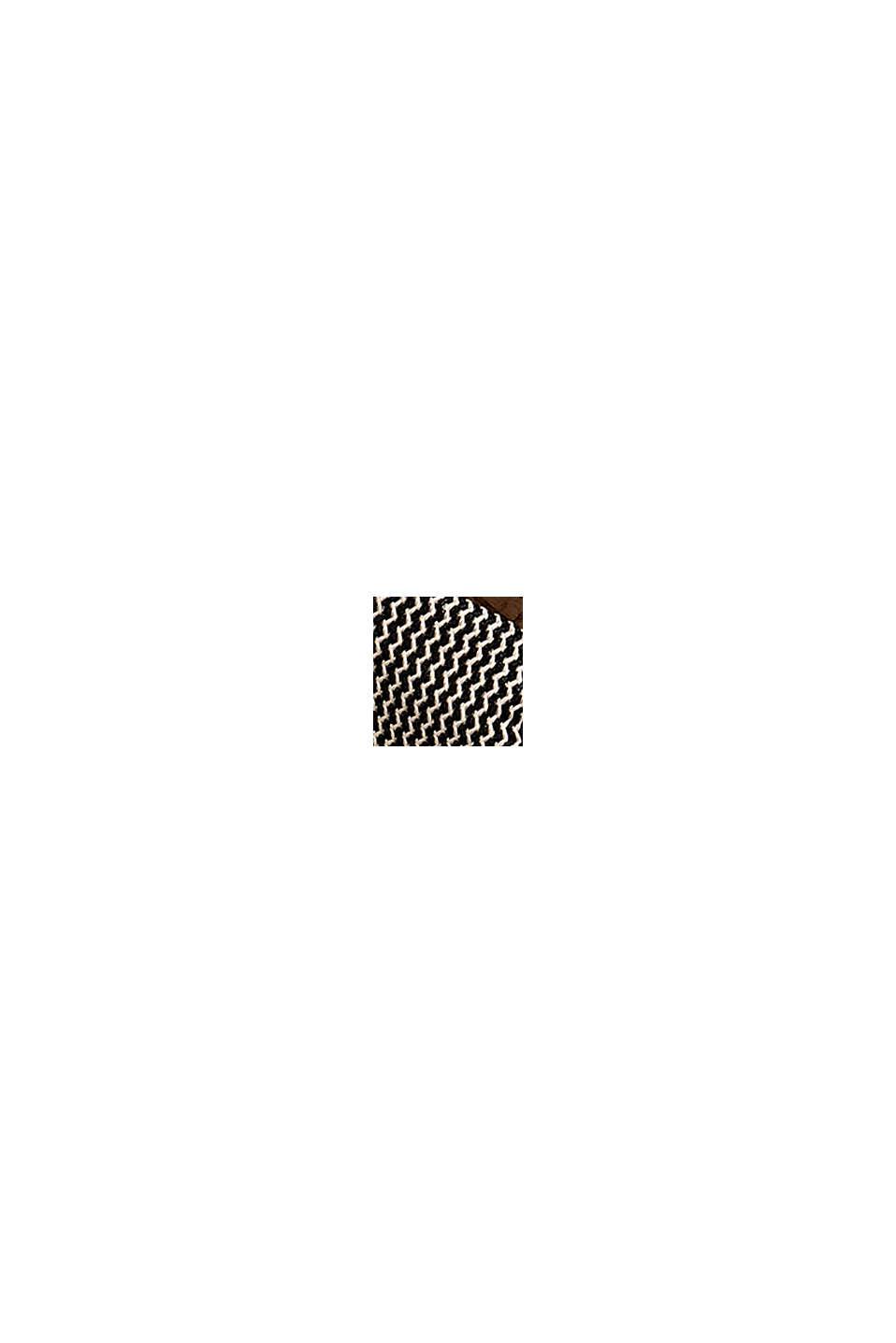 Infradito con struttura intessuta, BLACK, swatch