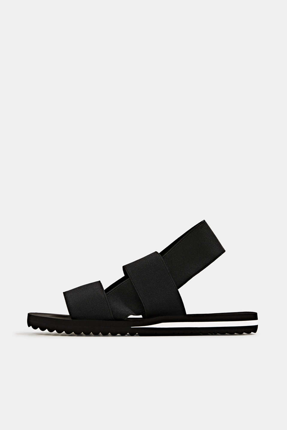 Esprit - Sandals with stretchy straps