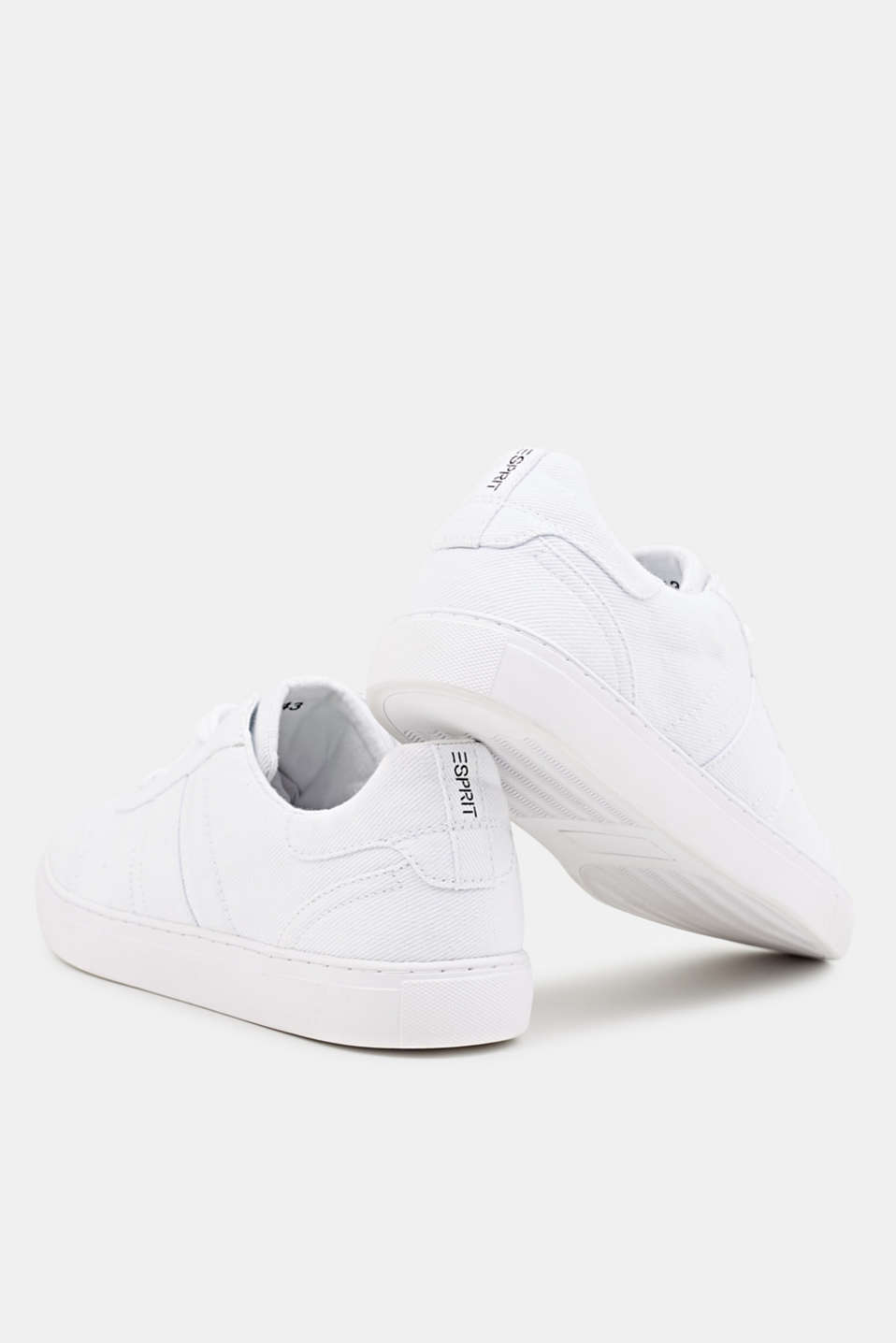 Cotton trainers, WHITE, detail image number 3