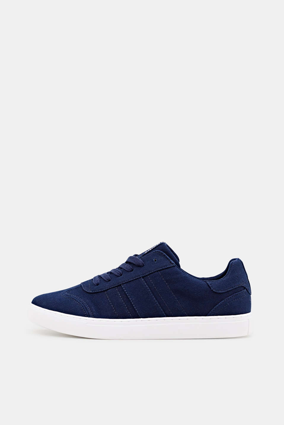 Cotton trainers, NAVY, detail image number 0