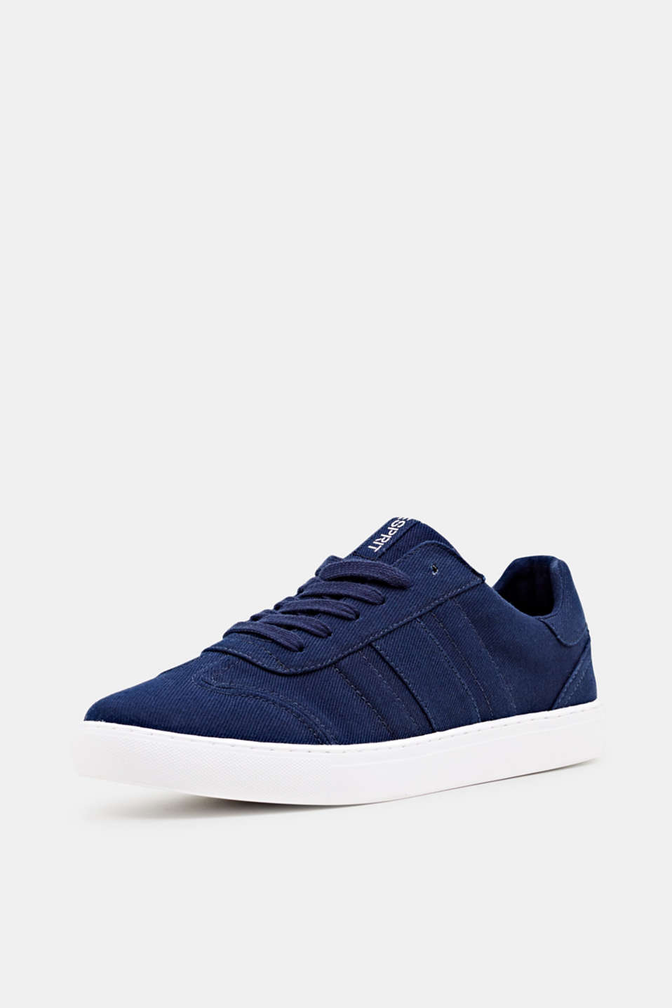 Cotton trainers, NAVY, detail image number 2