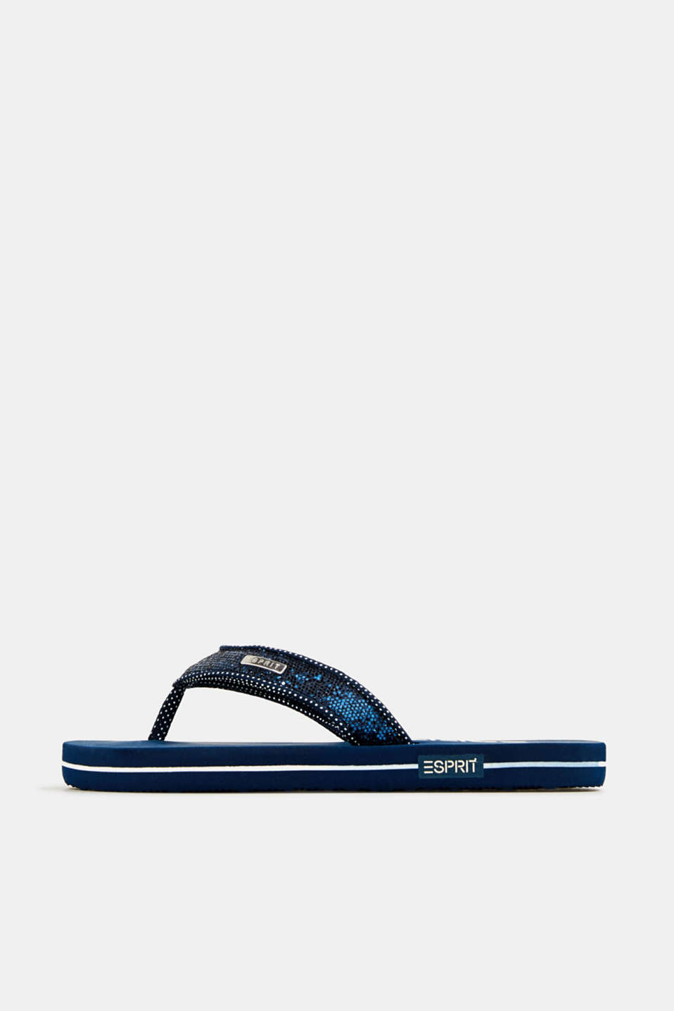 Esprit - Slip slops with glittery straps