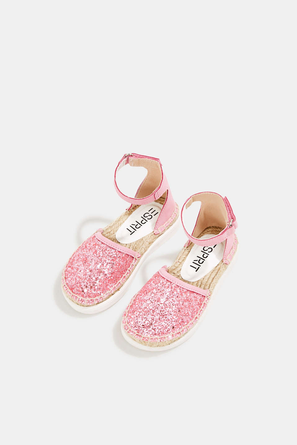 Espadrilles with glitter, PINK, detail image number 1