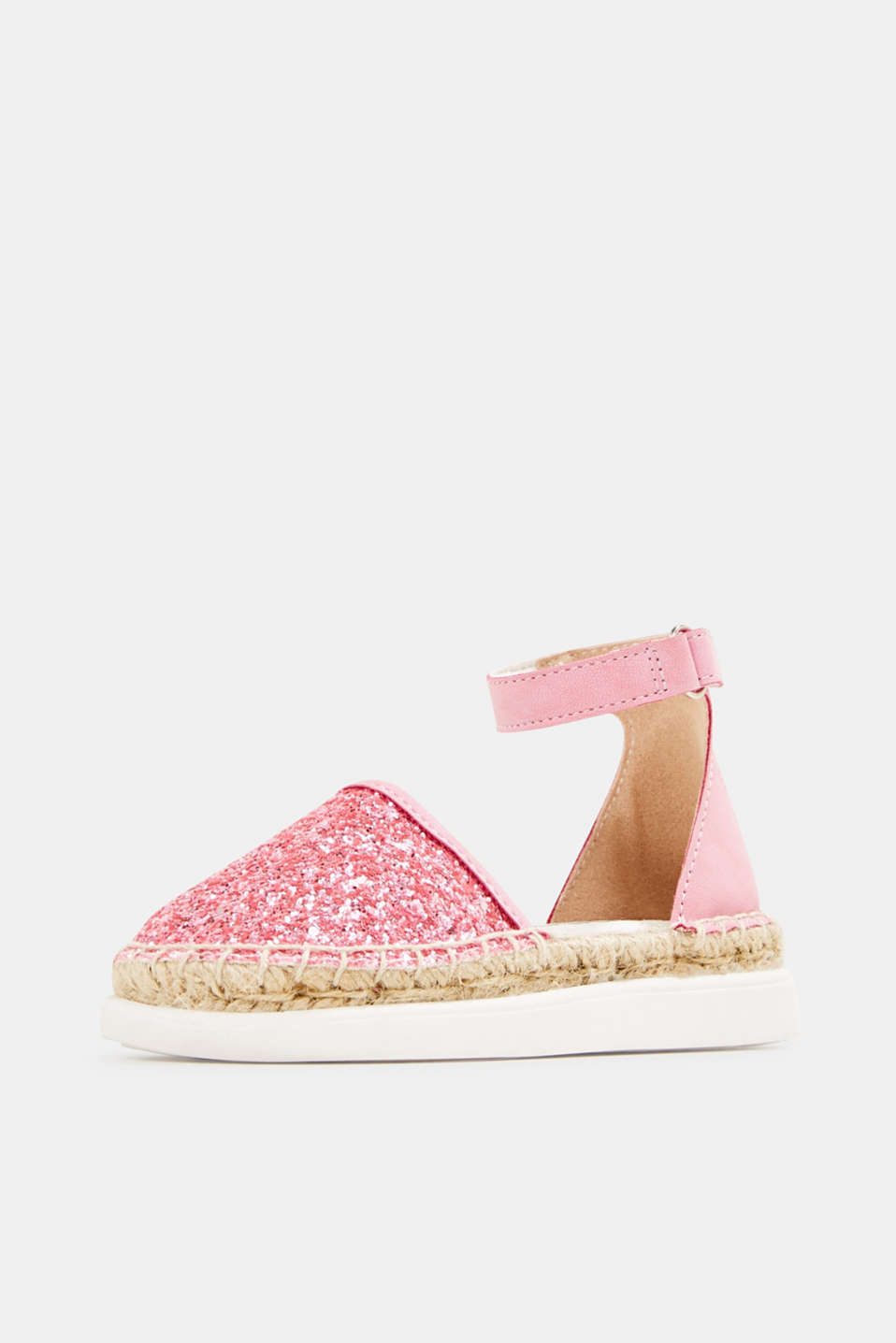 Espadrilles with glitter, PINK, detail image number 2
