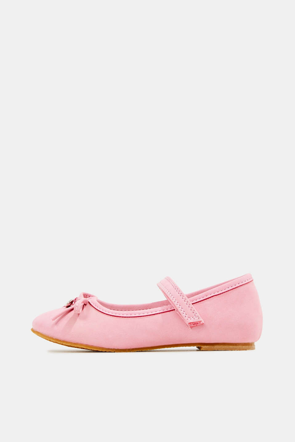 Esprit - Ballerinas with Velcro straps, in faux leather