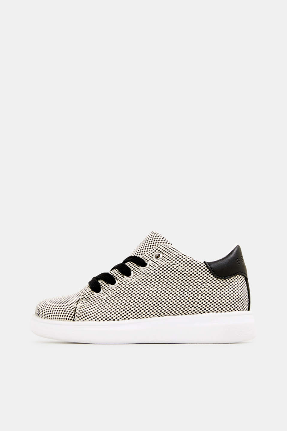 Esprit - Trainers with a checkerboard pattern