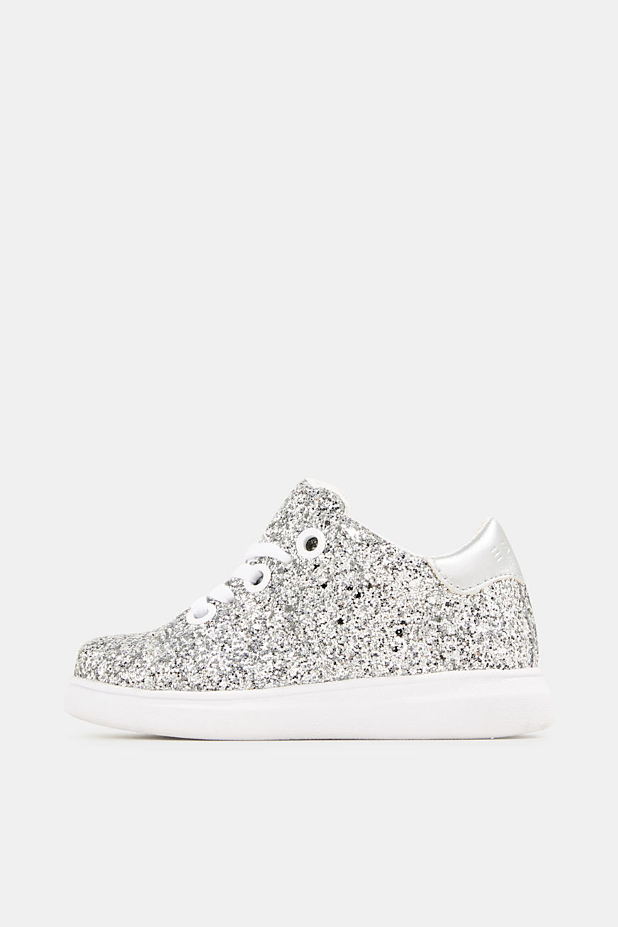Sneakers in glitterlook