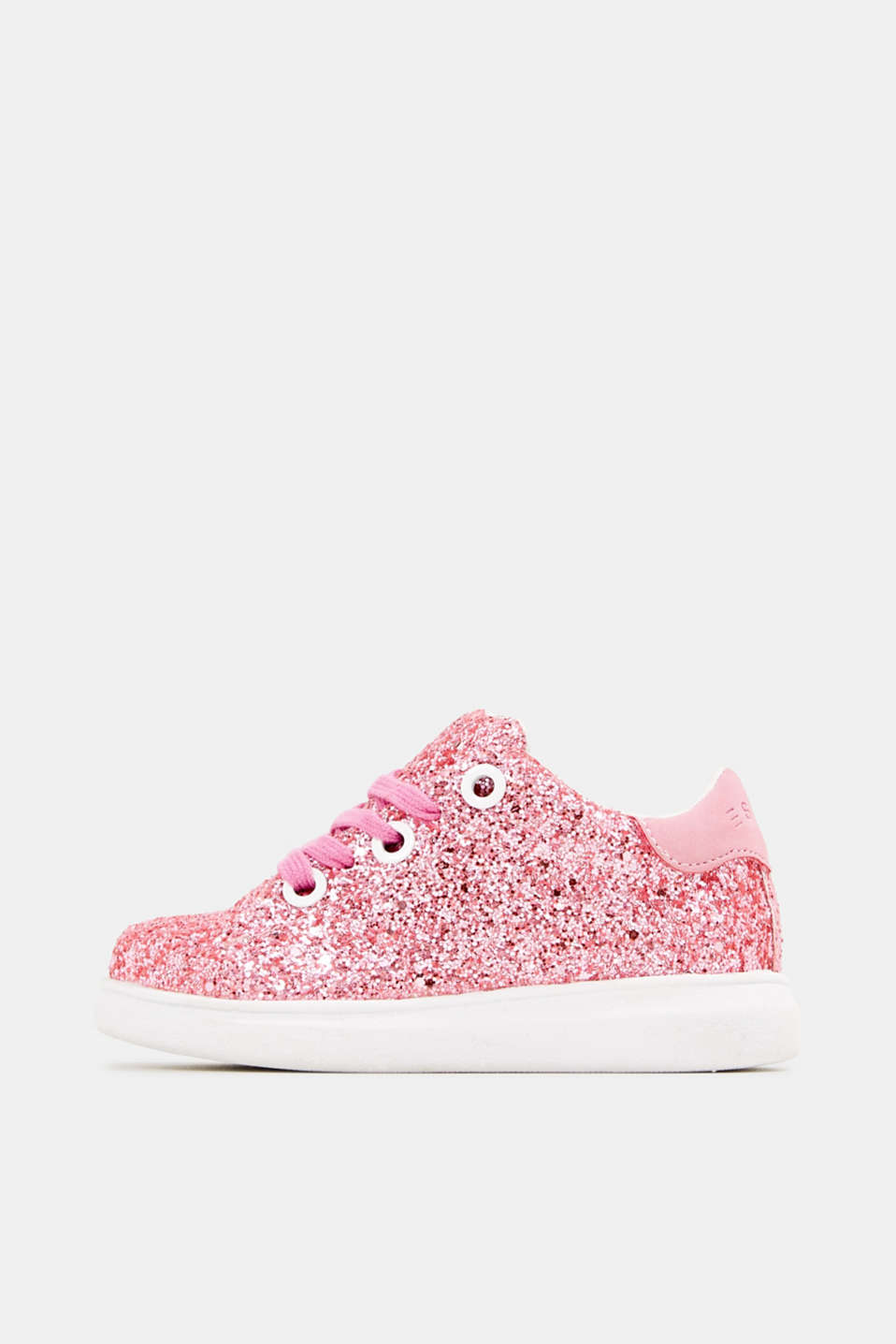 Glitter trainers, PINK, detail image number 0